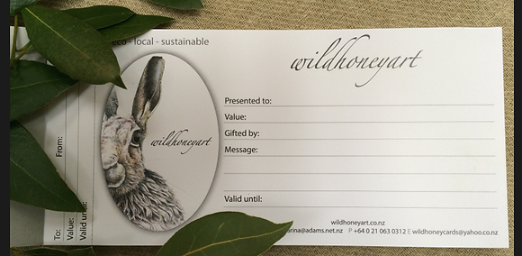 Wild Honey $100 Gift Voucher