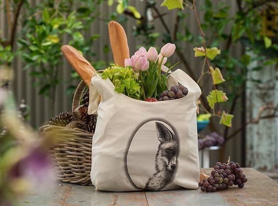 Mr Fox Organic Cotton Grocery Bag