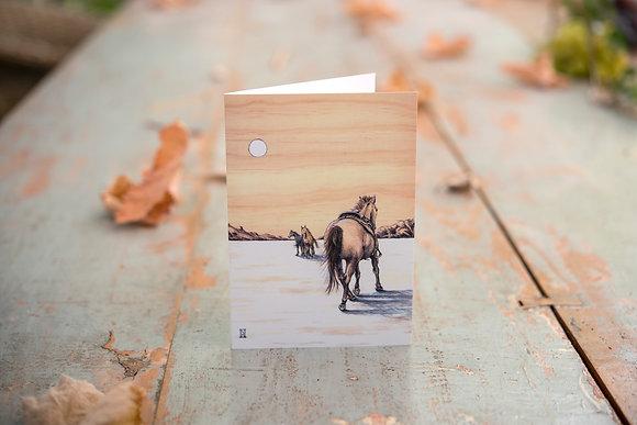 Wild Horses C6 Card