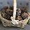 Thumbnail: Large Basket with pinecones
