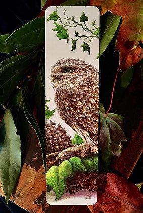 Oscar the owl bookmark