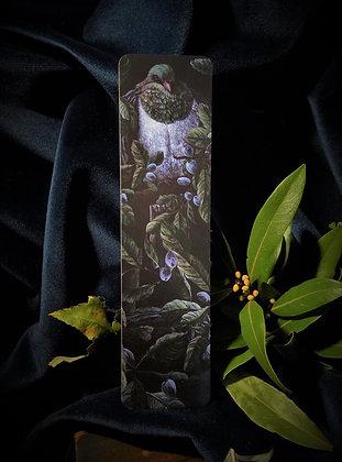 Kereru (wood pigeon) bookmark
