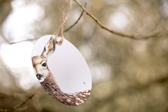 Willow the Fawn Gift Tag