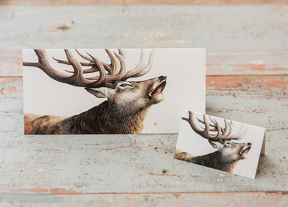 Mini Stag card