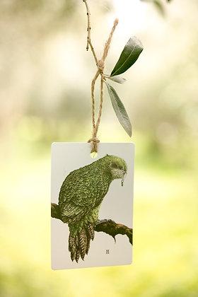 Kakapo Gift Tag