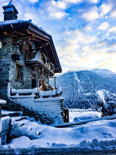 B&B Il Ciliegio inverno neve