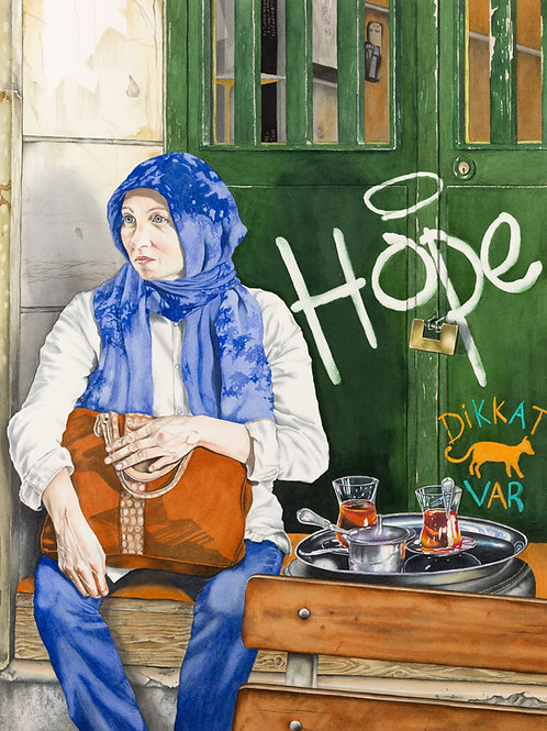 Limited edition print of 'Hope'