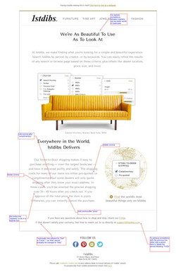 1stdibs Welcome email series