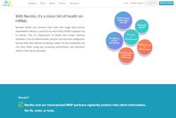 Nerdio HIPPA Compliance Page