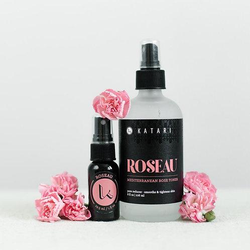 ROSEAU (ROSE) WATER TONER   100% PURE FIRST DISTILLATION ROSE HYDROSOL