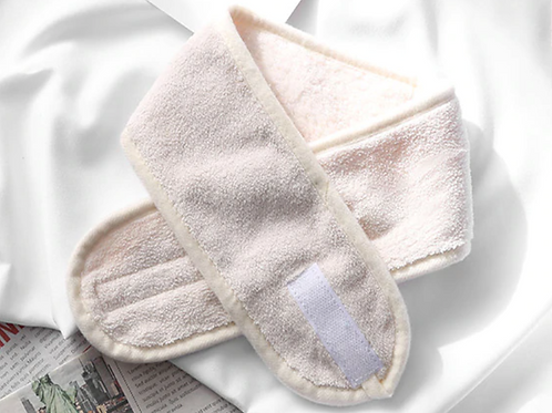 Velcro Towelcloth Facial Headbands