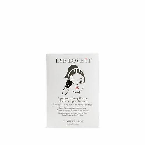 Eye Love It 2 Reusable Eye Makeup Remover Pads