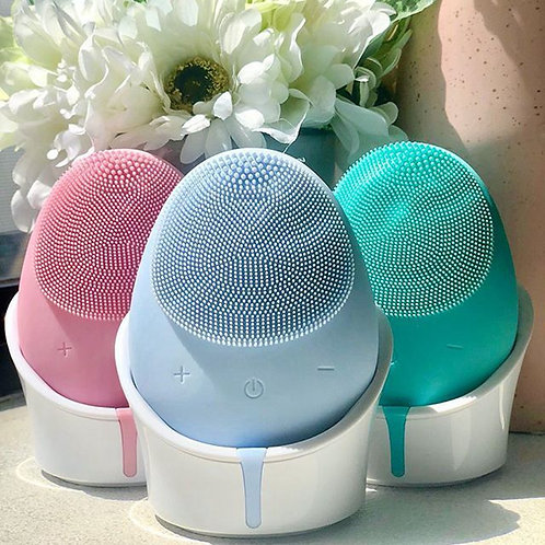 Silicon Facial Electric Cleansing Brush (Wireless)