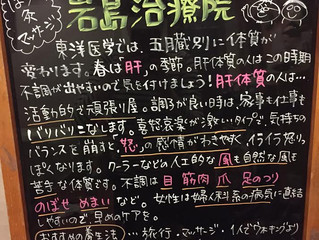 季節の黒板~春~