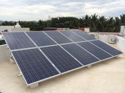 2.50 KW_Unimen poly 250W panel_Puerto Vallarta_Mexico
