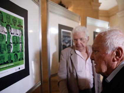 Exposição em memória às vítimas do Holocausto | ONU Brasil