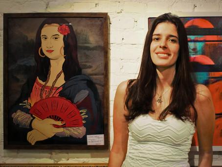 Monalisa Cigana em exposição na Urban Arts - Vila Madalena