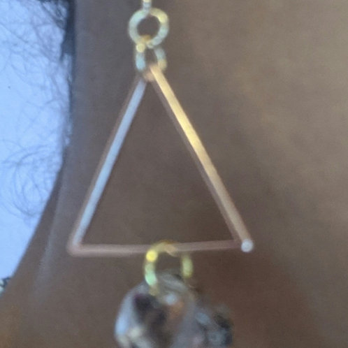 Triangle monstera minis