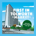 First in Tolworth Market  - we're back!
