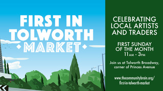 First in Tolworth Market