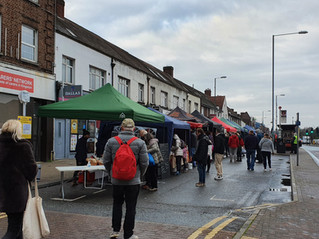 First in Tolworth Christmas Market
