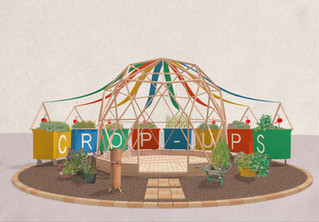 CROP-UPS | HAMPTON COURT GARDEN FESTIVAL
