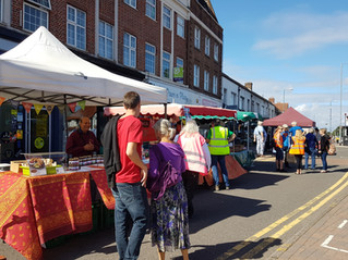 First in Tolworth Market - September 6 2020