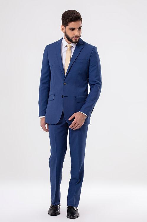 Costume Poliviscose slim fit azul bic