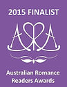 2015 Finalist Australian Romance Readers Award badge