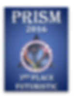 Prism Awards 2016 3rd Place Futuristic badge