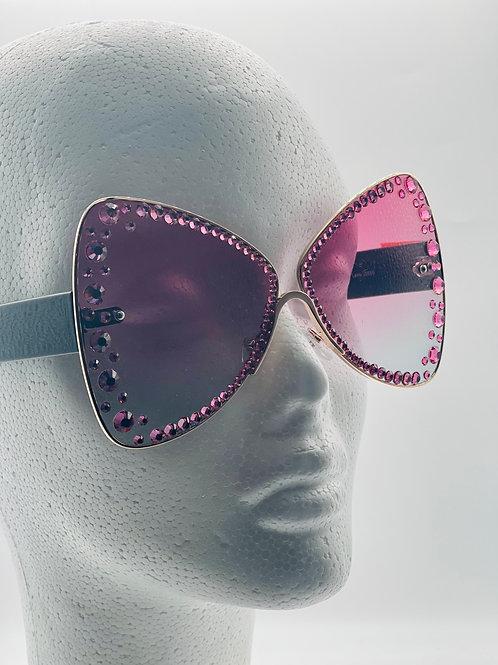 Fashionable Bling Glasses