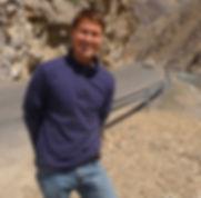 Sean at entrance of Panjsher Valley.JPG