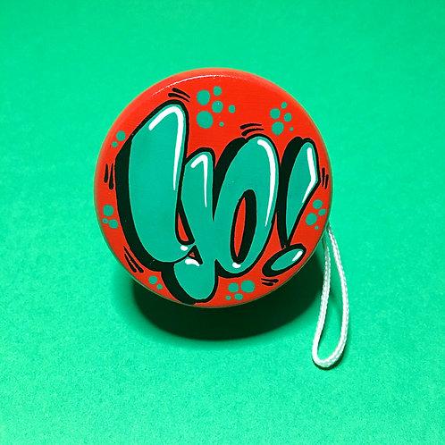 Yoyo n°5 (Rouge/Vert foncé)