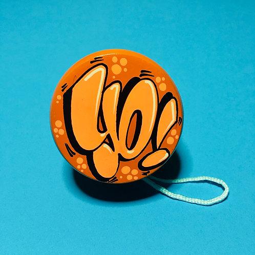 Yoyo (Orange/Orange flashy)