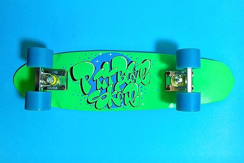 Skate cruiser (Bleu/Vert)