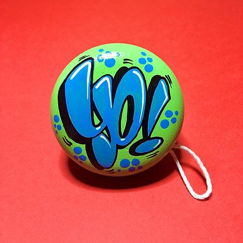 Yoyo n°19 (Vert clair/Bleu)