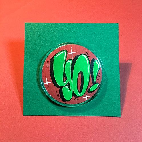 Badge (Rouge/Vert)