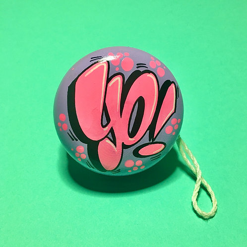 Yoyo n°4 (Lilas/Rose flashy)