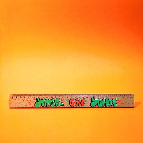 Règle 30 CM (Vert/Orange)