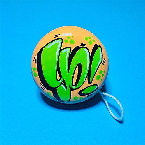Yoyo n°12 (Pêche/Vert)