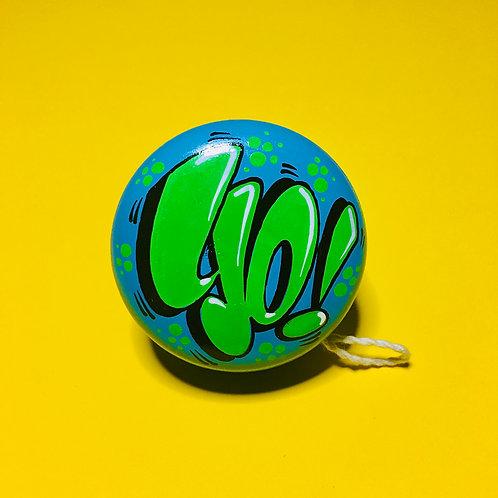 Yoyo n°20 (Bleu/Vert)