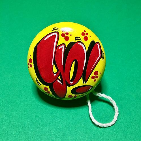 Yoyo n°17 (Jaune/Rouge)