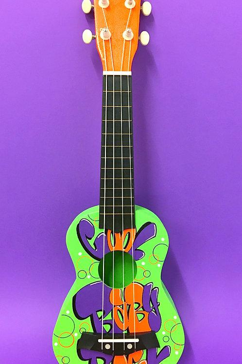 Ukulélé (Orange/Vert/Violet)