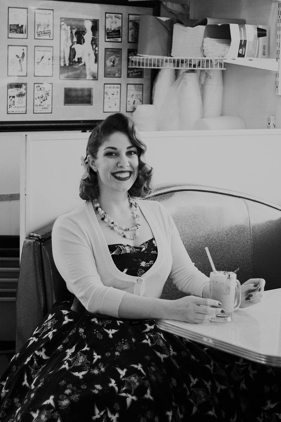 Vintage 50s Diner NC 12 Of 29