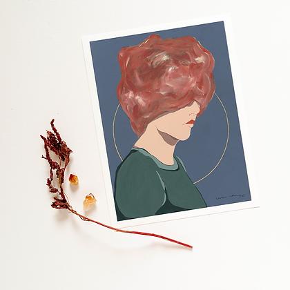 Gretta - Vertical Print