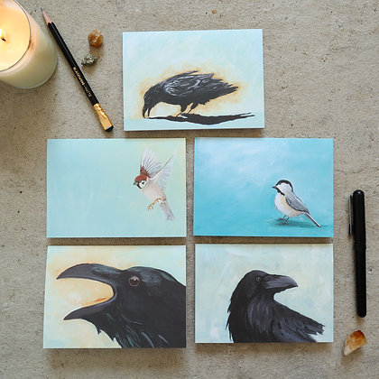The Lonely Flock - Greeting Card Set