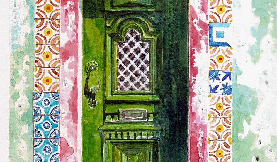 'Door in Faro'