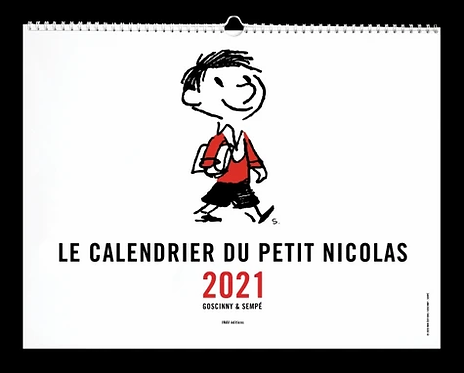 Le Calendrier du Petit Nicolas.Edition 2021