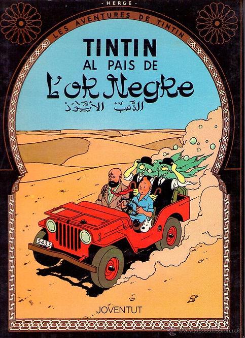 Les Aventures de Tintin (Tome 15 ): Tintin au pays de l'or noir