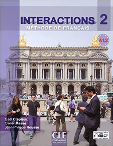 Interactions 2 - Niveau A1.2 - Livre de l'élève + DVD Rom